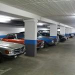 Parkplätze für die Oldtimer - Parkhaus Kreuzberg