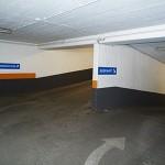 Aus- & und Einfahrt Parkhaus Kreuzberg am Kotti